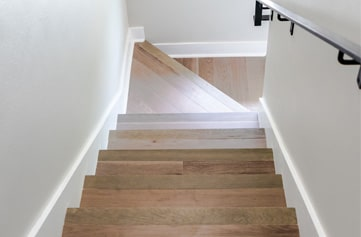 Stair And Trim Work Master Of Wood Floors and Tile
